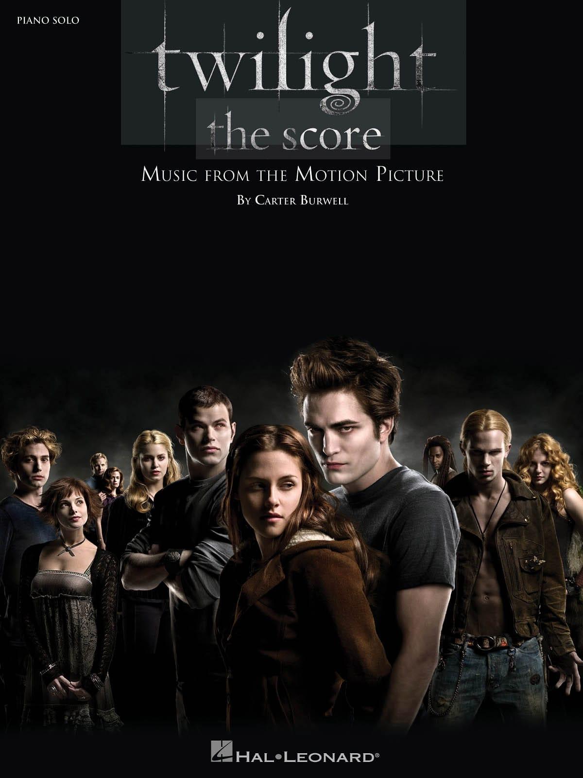 Carter Burwell - Twilight - The Score - Music Motion Picture - Partition - di-arezzo.com