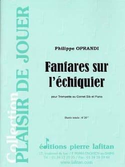 Philippe Oprandi - Fanfares On The Chessboard - Partition - di-arezzo.com