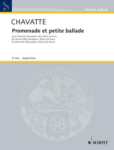 Promenade Et Petit Ballade - Guy Chavatte - laflutedepan.com