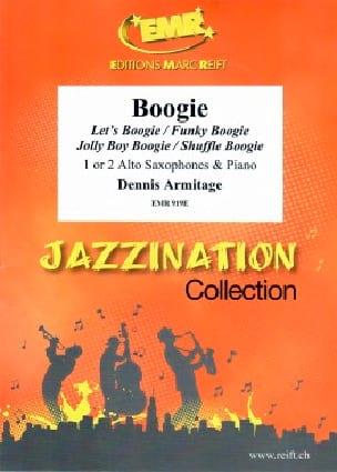 Jazzination Volume 5 Boogie - Dennis Armitage - laflutedepan.com