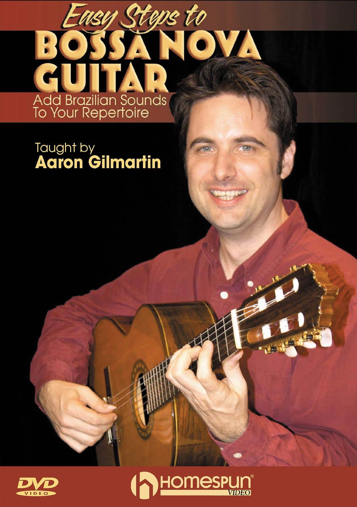 Aaron Gilmartin - DVD - Easy Steps To Bossa Nova Guitar - Partition - di-arezzo.co.uk