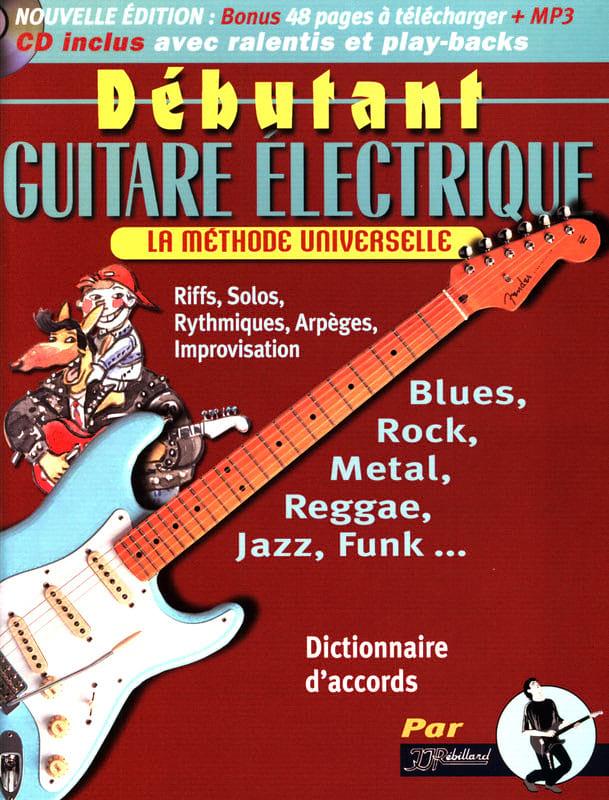 Jean-Jacques Rébillard - Débutant guitare électrique - Partition - di-arezzo.fr