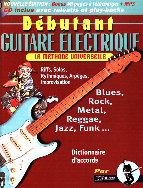 Jean-Jacques Rébillard - Beginner electric guitar - Partition - di-arezzo.co.uk