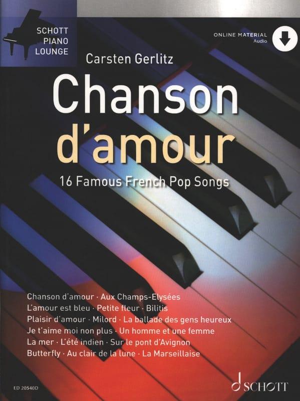 Chanson d'amour - Partition - Chanson française - laflutedepan.com