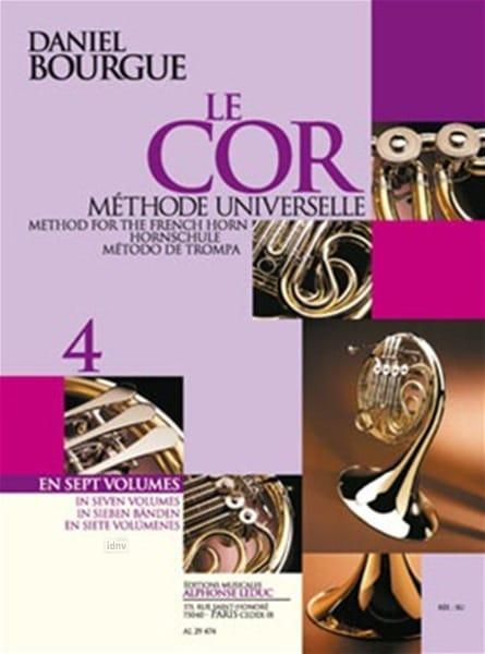 Daniel Bourgue - The Cor Universal Method Volumen 4 - Partition - di-arezzo.es