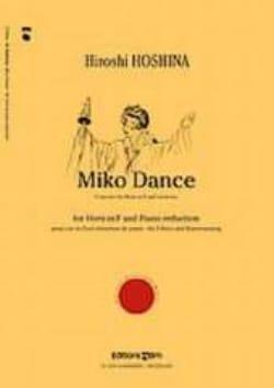 Miko Dance - Hiroshi Hoshina - Partition - Cor - laflutedepan.com