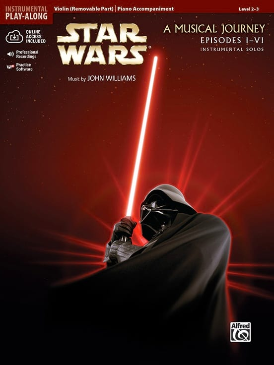 John Williams - Star Wars instrumental solos - A musical journey, episodes I-VI - Partition - di-arezzo.ch