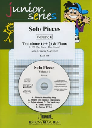 John Glenesk Mortimer - Solo Pieces Volume 6 - Partition - di-arezzo.co.uk