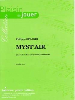 Philippe Oprandi - Myst 'Air - Partition - di-arezzo.com