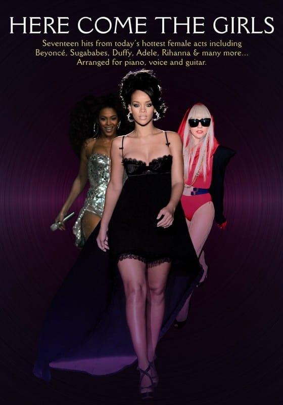 Here Come The Girls - Partition - Pop / Rock - laflutedepan.com