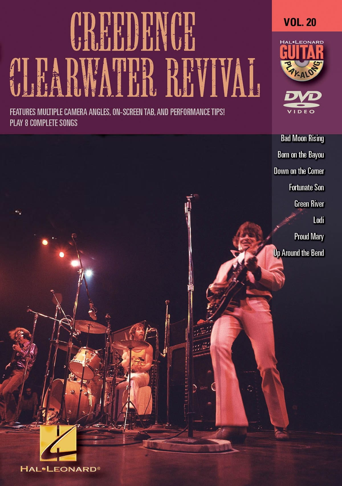 Clearwater Revival Creedence - DVD - Creedence Clearwater Revival Volume 20 - Partition - di-arezzo.co.uk