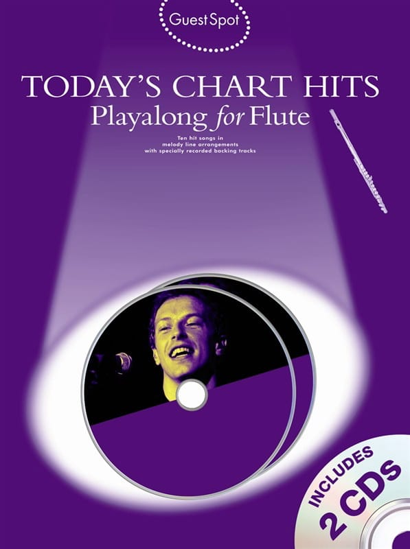 Guest Spot - Today's Chart Hits Playalong For Flute - laflutedepan.com