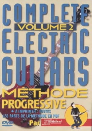 Jean-Jacques Rébillard - DVD - Complete electric guitars 2 - Progressive method - Partition - di-arezzo.co.uk