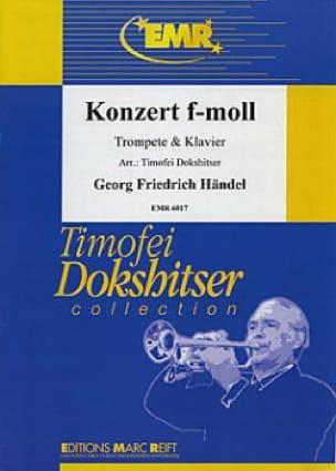 HAENDEL - Konzert In F-Moll - Partition - di-arezzo.com