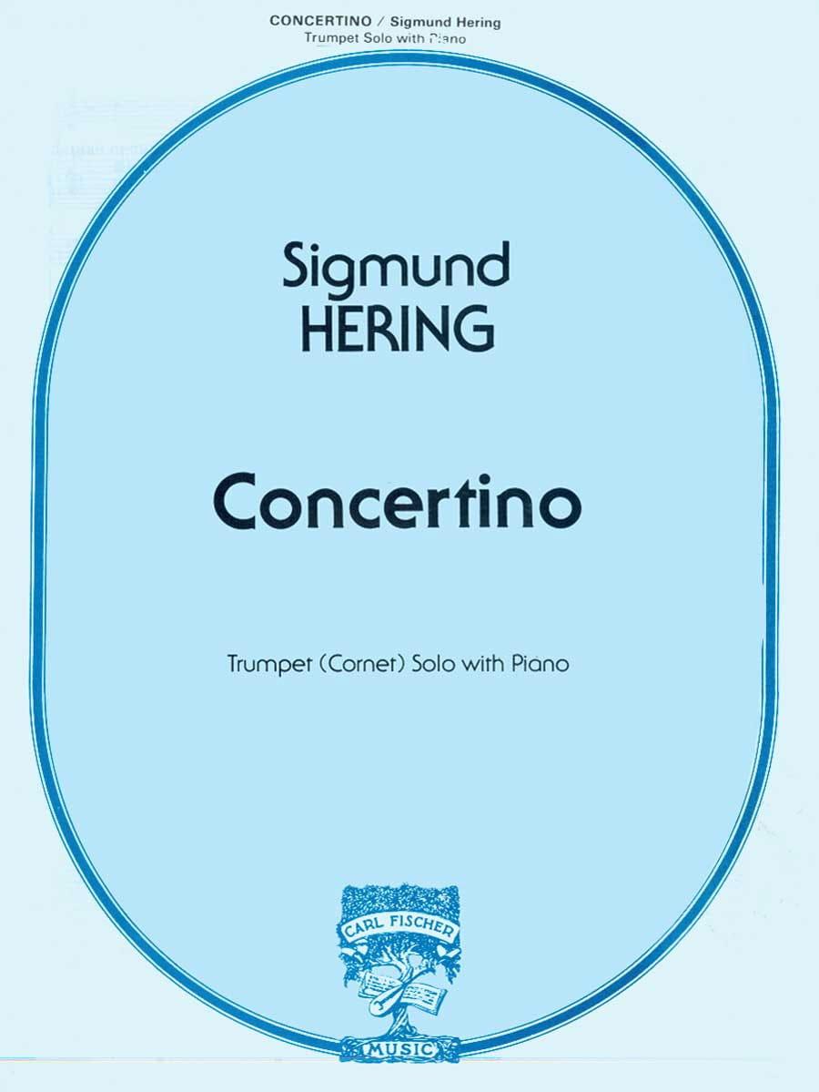 Sigmund Hering - Concertino. Trumpet - Partition - di-arezzo.com
