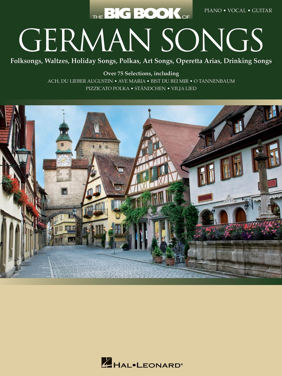 The Big Book Of German Songs - Partition - laflutedepan.com