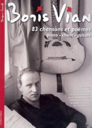 Boris Vian - 83 Songs and poems - Partition - di-arezzo.co.uk