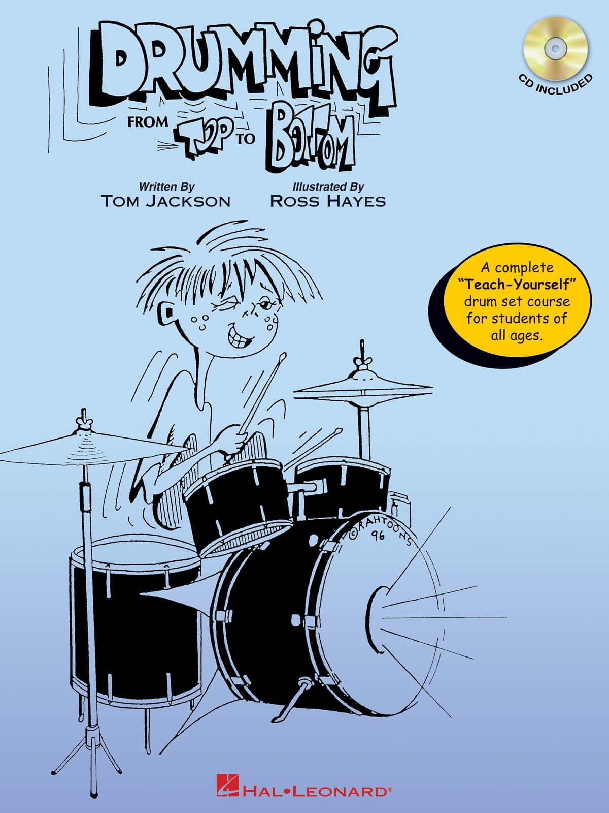 Drumming From Top To Bottom - Tom Jackson - laflutedepan.com