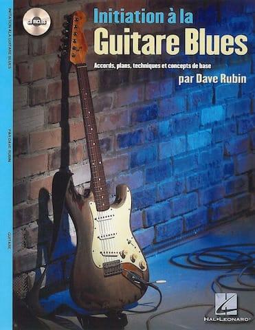 Initiation A la Guitare Blues - Dave Rubin - laflutedepan.com