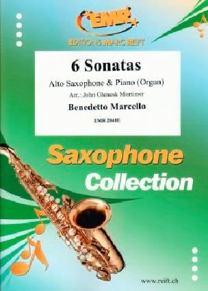 Benedetto Marcello - 6 Sonatas - Partition - di-arezzo.fr