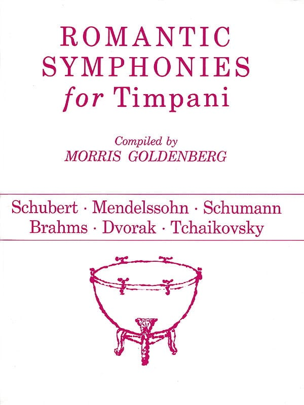 - Romantic Symphonies For Timpani - Partition - di-arezzo.co.uk
