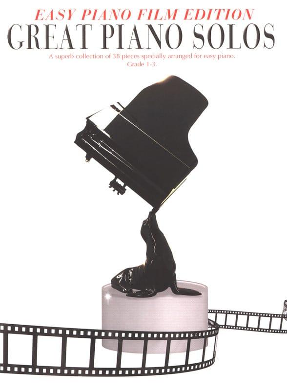 Easy Piano Edition - Great Piano Solos - The Film Book - laflutedepan.com