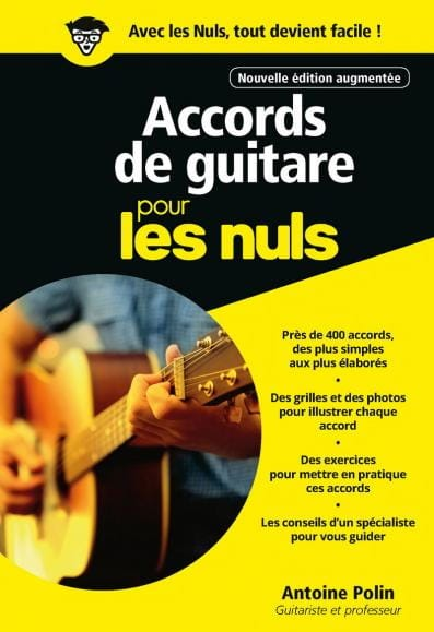 Accords de Guitare pour les Nuls - Partition - laflutedepan.com