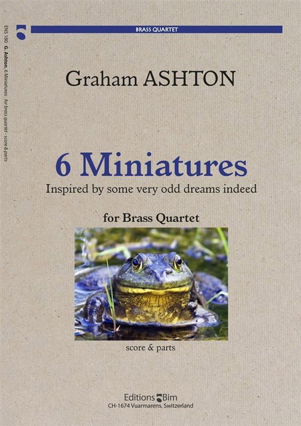 6 Miniatures - Graham Ashton - Partition - laflutedepan.com