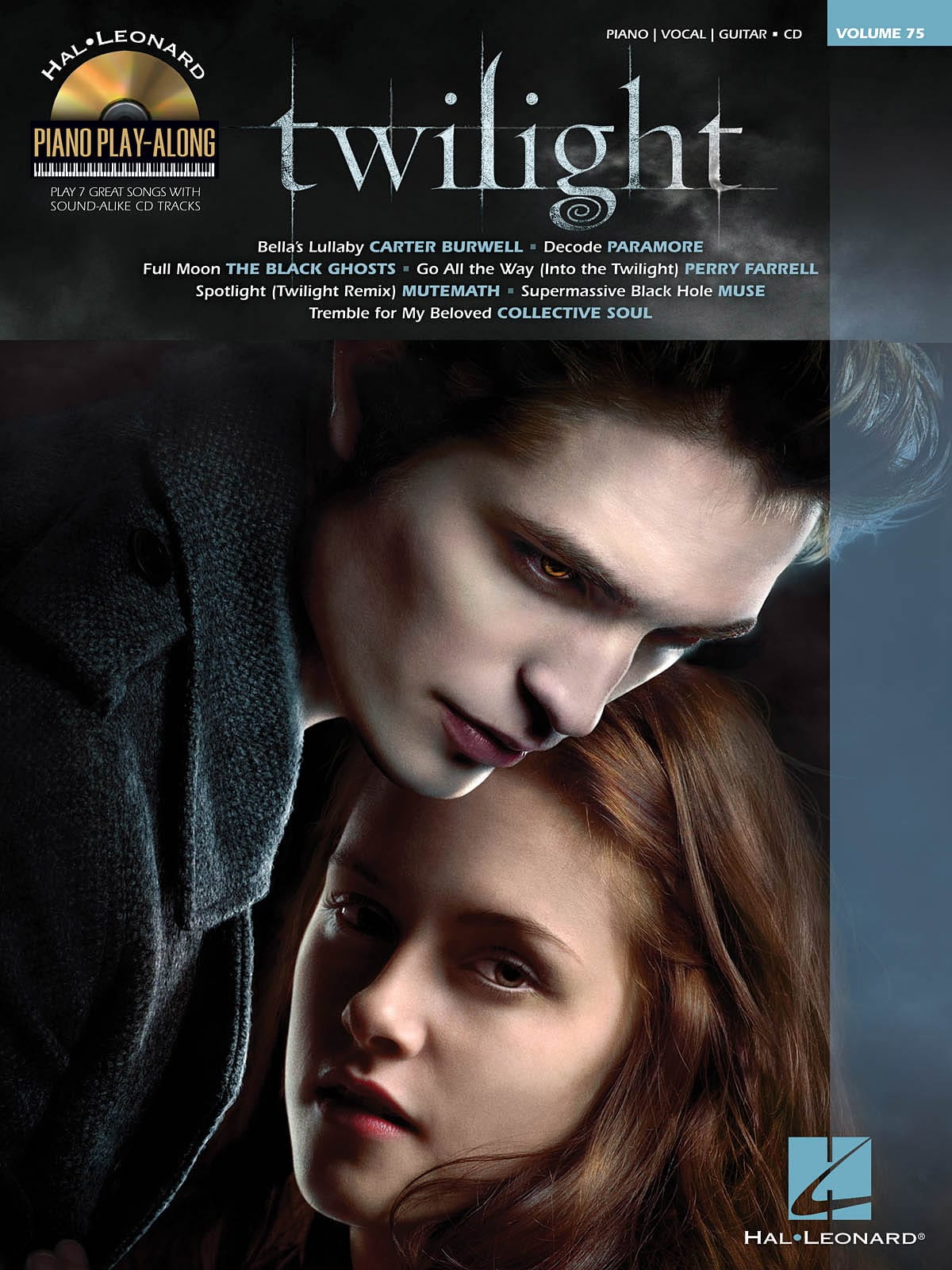 - Piano Play-Along Volume 75 - Twilight - Partition - di-arezzo.co.uk