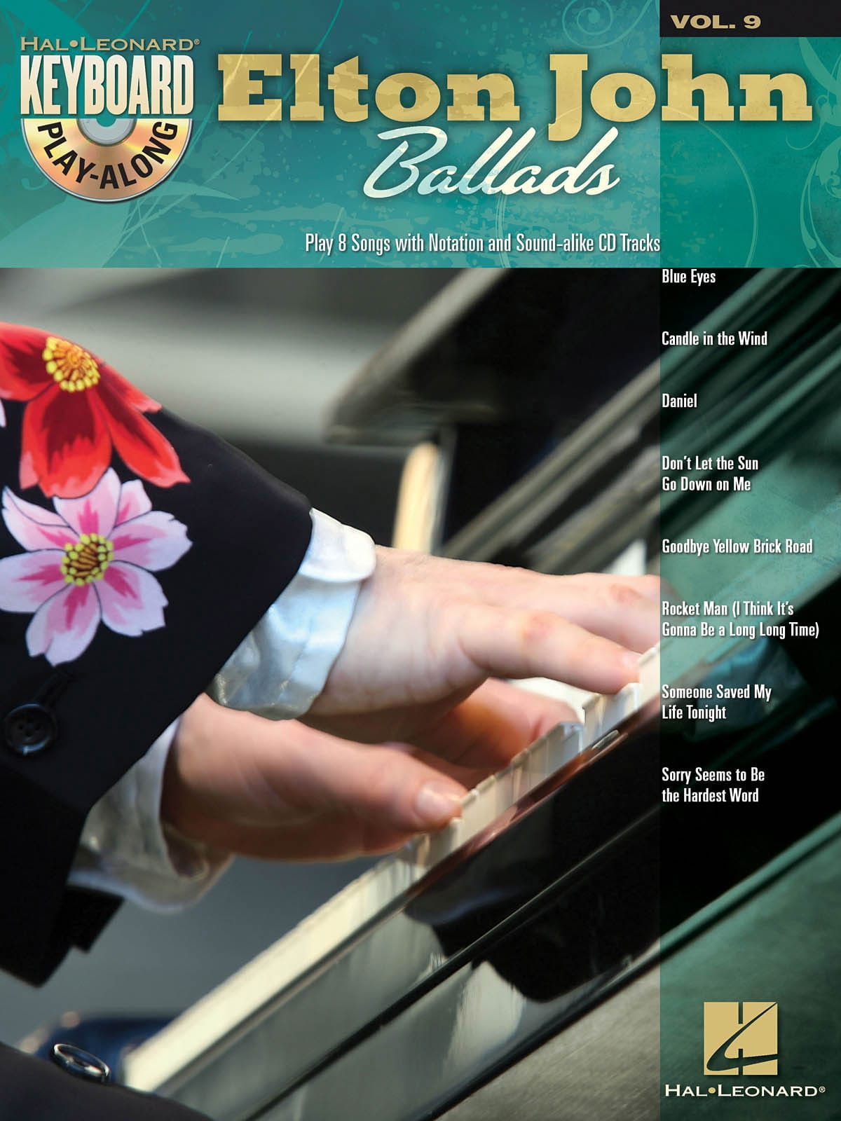 Elton John - Keyboard Play-Along Volume 9 - Ballads - Partition - di-arezzo.co.uk