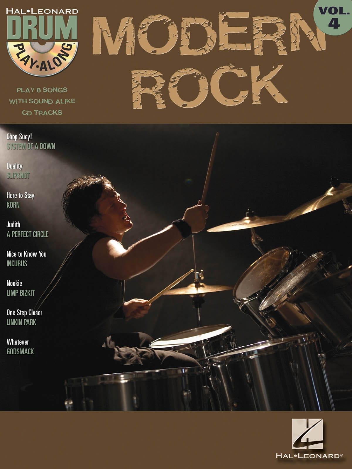 Drum play-along volume 4 - Modern Rock - laflutedepan.com