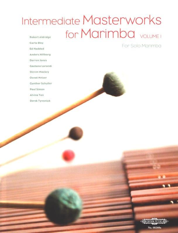 Intermediate Masterworks For Marimba Volume 1 - laflutedepan.com