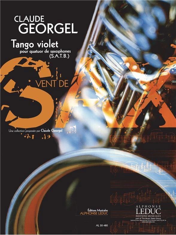 Claude Georgel - Tango Violet - Partition - di-arezzo.fr