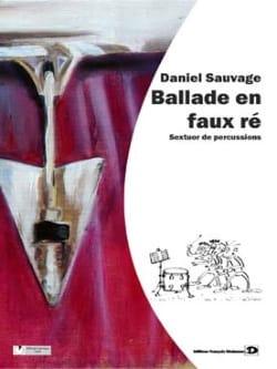 Ballade En Faux Ré - Daniel Sauvage - Partition - laflutedepan.com