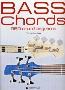 Bass Chords - 950 Chord Diagrams - Tony Corizia - laflutedepan.com