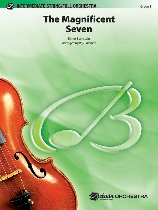 The Magnificent Seven - Elmer Bernstein - Partition - laflutedepan.com