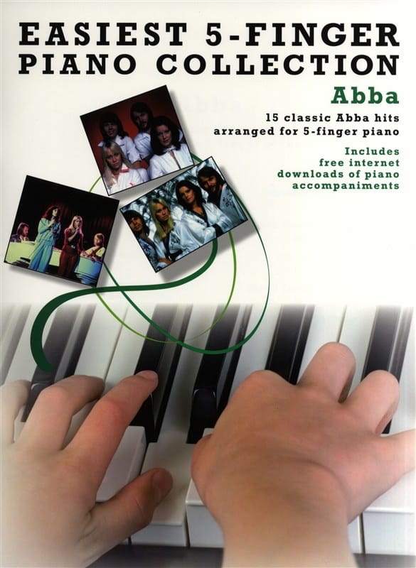 ABBA - Easiest 5-Finger Piano Collection - Partition - di-arezzo.co.uk
