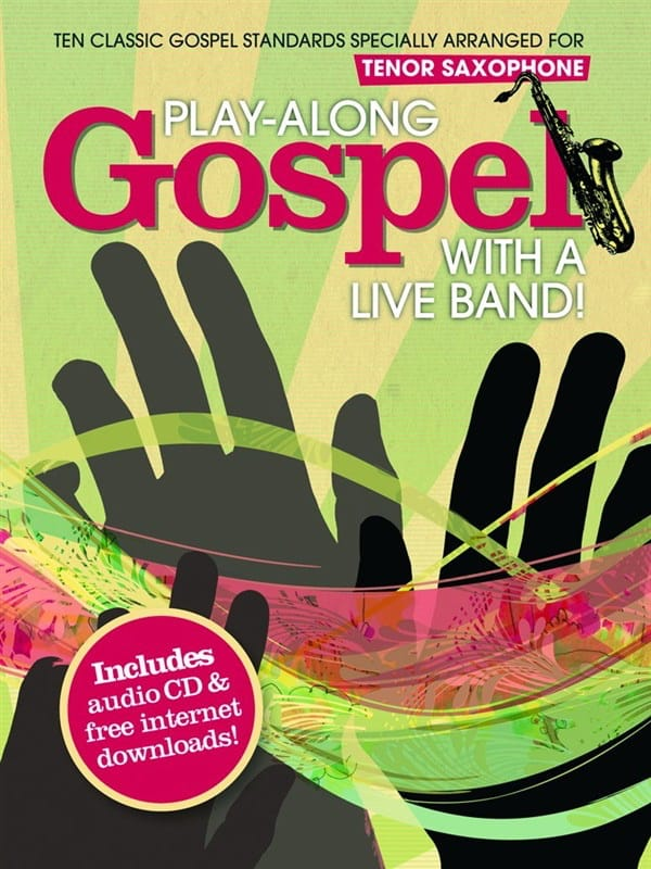 Play-Along Gospel With A Live Band - Partition - laflutedepan.com