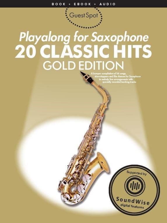 Guest Spot - 20 Classic Hits Playalong For Saxophone - laflutedepan.com