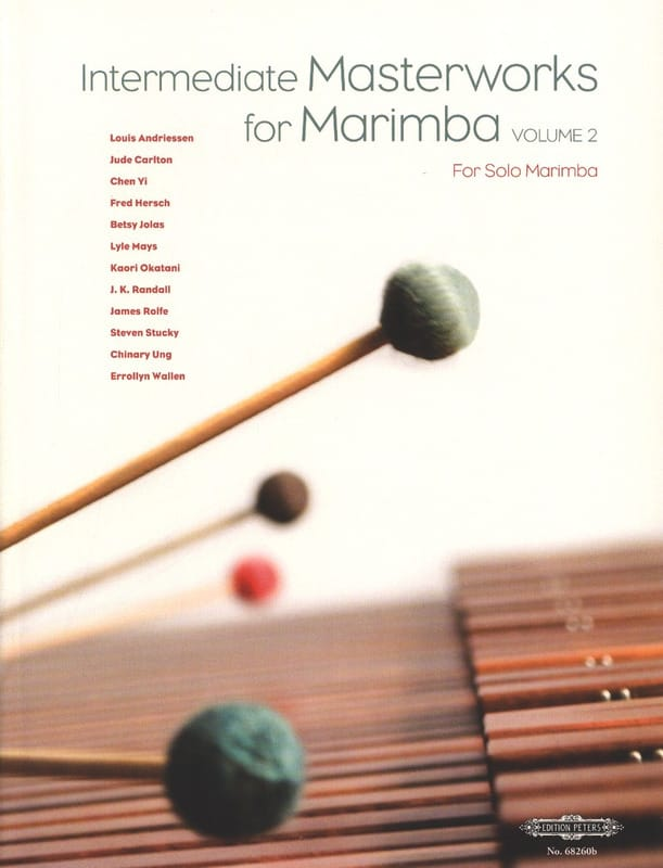 - Intermediate Masterworks For Marimba Volume 2 - Partition - di-arezzo.fr