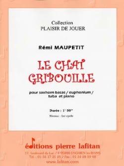 Le Chat Gribouille - Rémi Maupetit - Partition - laflutedepan.com