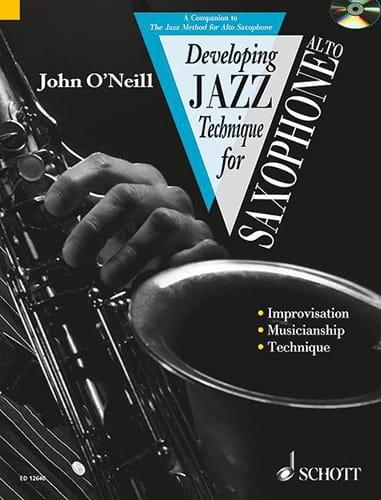 Developping Jazz Technique For Saxophone Alto Volume 2 - laflutedepan.com