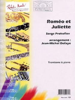 Roméo Et Juliette - Serge Prokofieff - Partition - laflutedepan.com