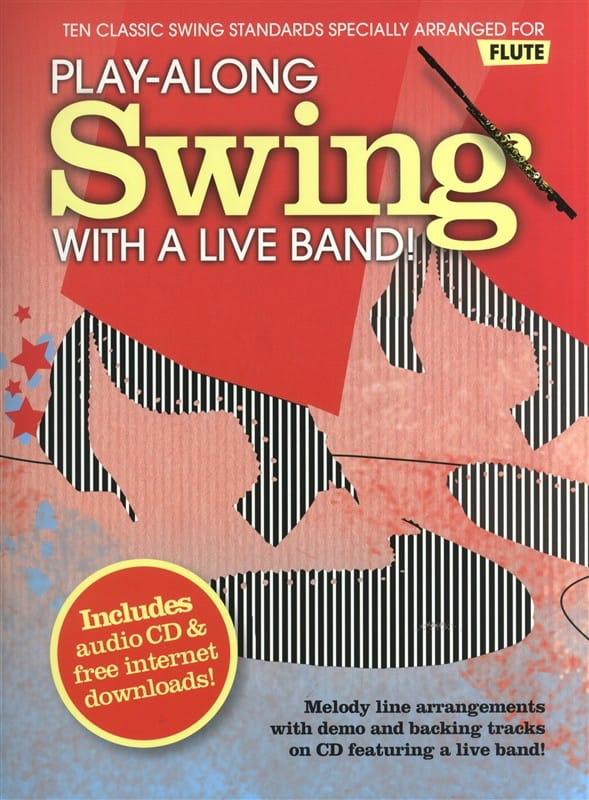 Play-Along Swing With A Live Band - Partition - laflutedepan.com