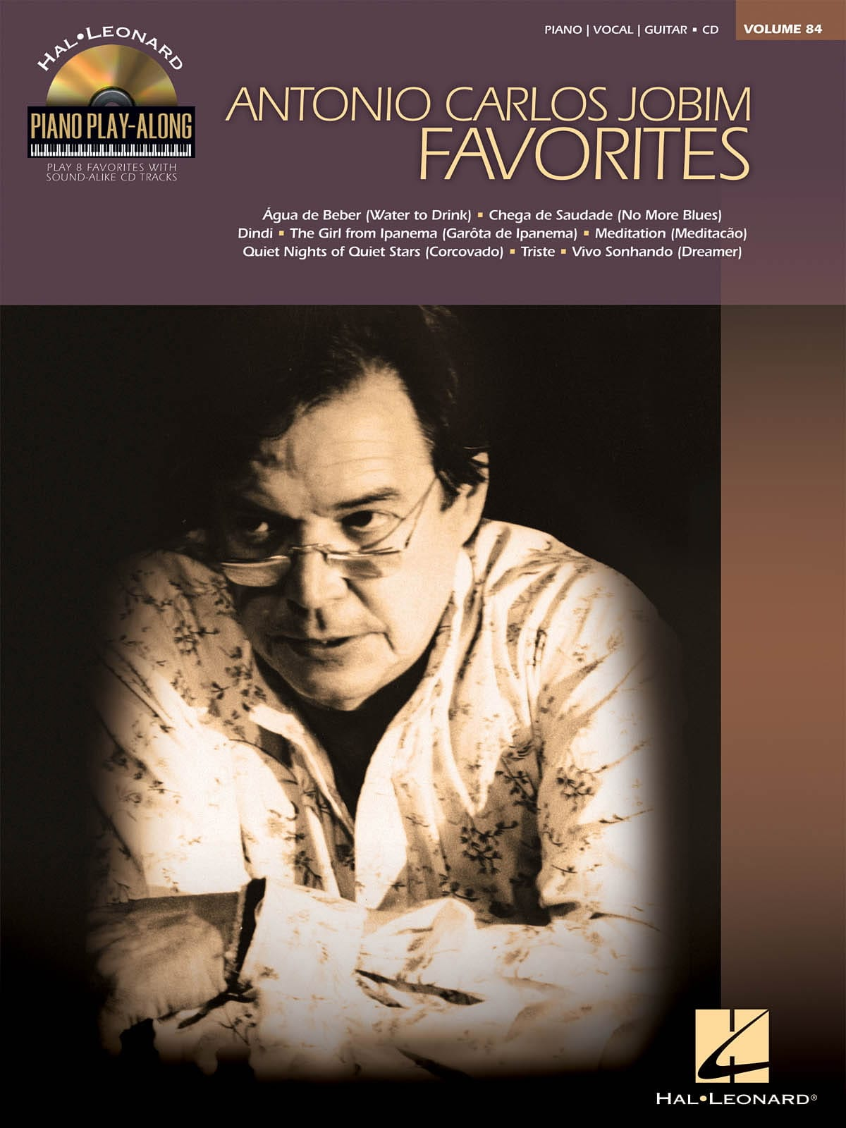 Antonio Carlos Jobim - Play-Along Piano Volume 84 - Jobim Favorites - Partition - di-arezzo.co.uk