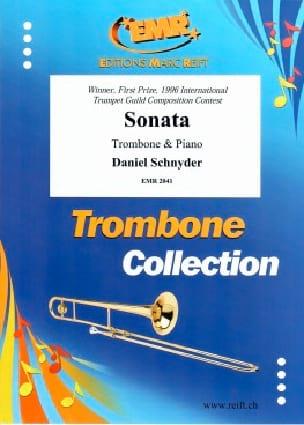 Sonata. Trombone Ténor - Daniel Schnyder - laflutedepan.com