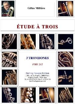 Gilles Millière - Studies A Three - Partition - di-arezzo.co.uk