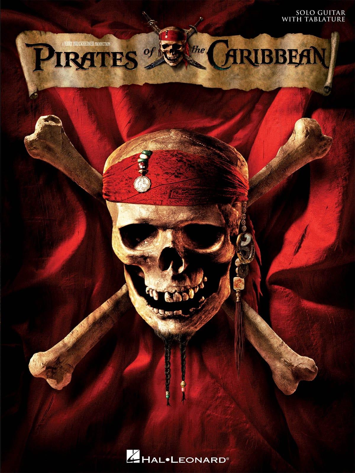 Pirates des Caraïbes - Partition - Guitare - laflutedepan.com