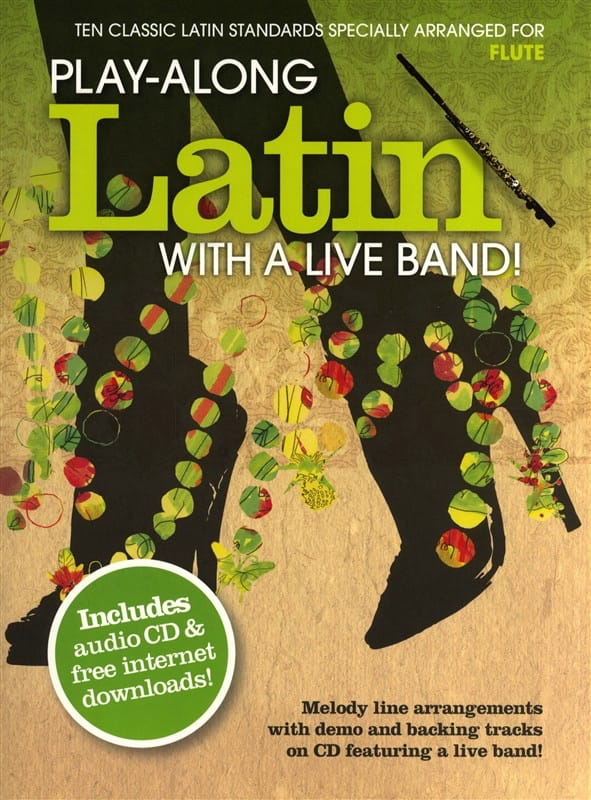 Play-along latin with a live band! - Partition - laflutedepan.com