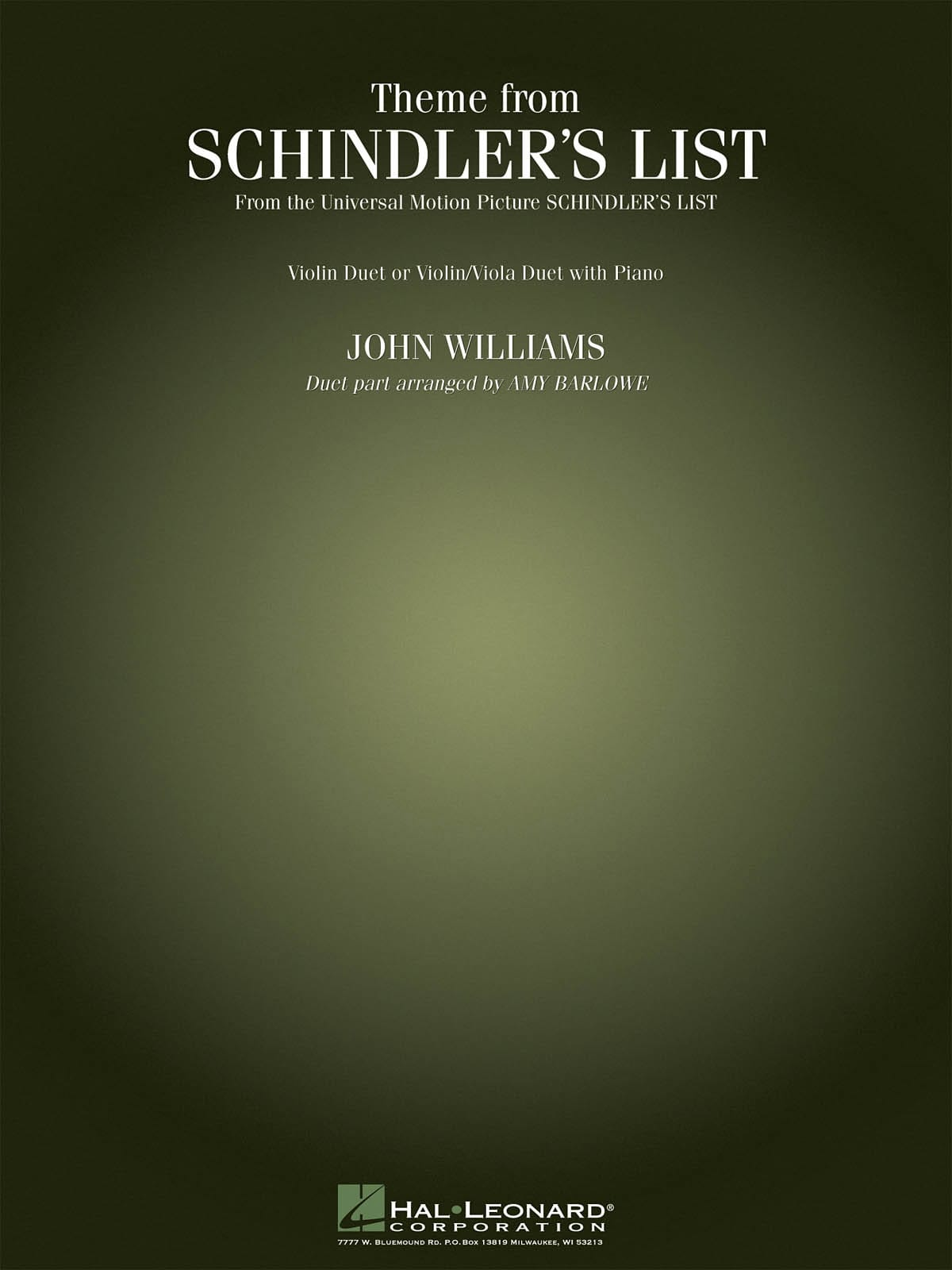 Theme From Schindler's List - John Williams - laflutedepan.com